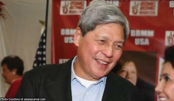 chairman Gregorio Araneta