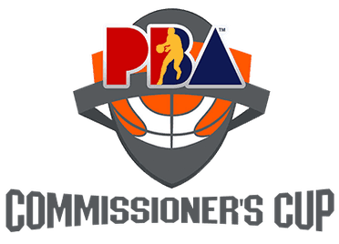 PBA basketball logo for Commissioner's Cup