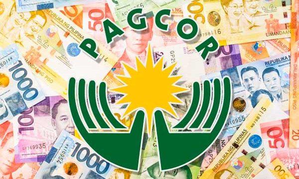 Pagcor money background