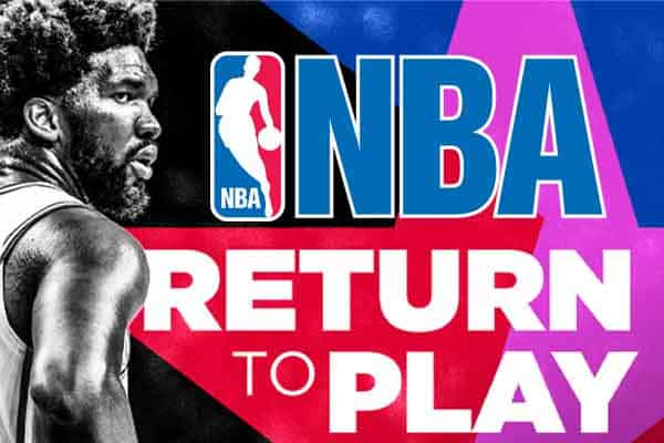 NBA return to play graphic