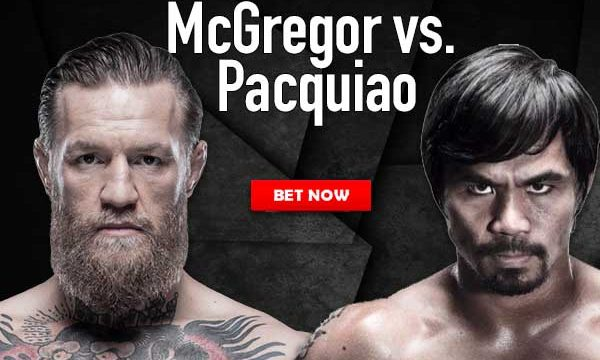Pacquiao-McGregor Bet Now