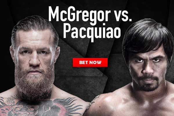Pacquiao-McGregor Bet Now