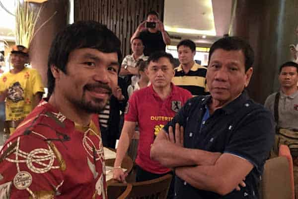 Pacquiao and friends
