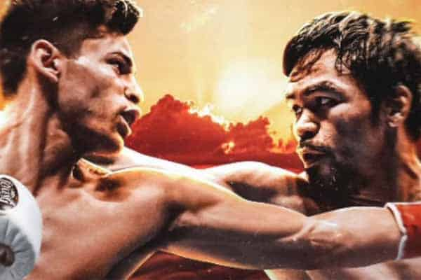 Mikey Garcia vs. Manny Pacquiao