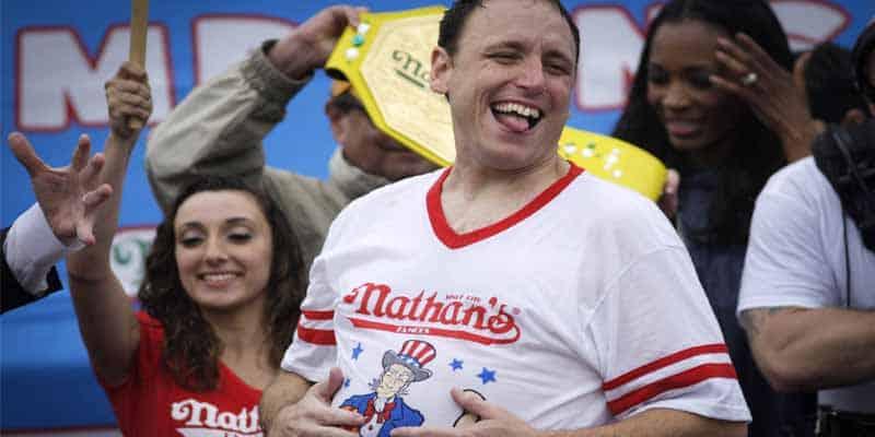 Joey Chestnut eating contest winner