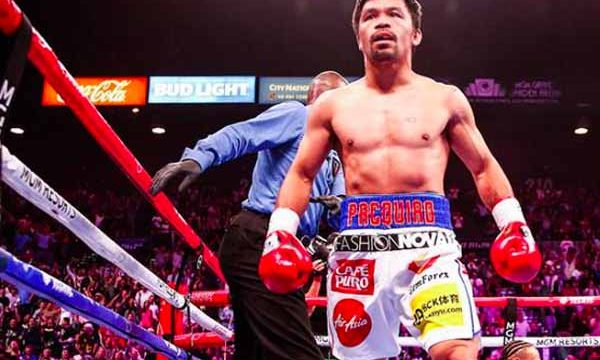 Manny Pacquiao's last fight