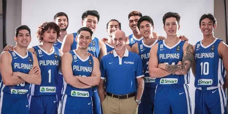 Gilas Pilipinas team picture