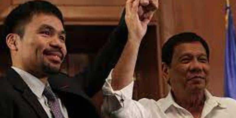 Pacman and Duterte